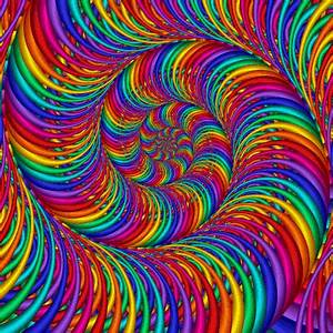 Psychedelic Slinky trippy animated psychedelic