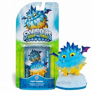 New Hot Skylanders Swap Force Pop Thorn Air Skylander