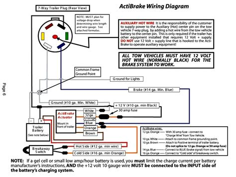 7 Pin Trailer Wiring Diagram With Breakaway by Trailer Breakaway Wiring Diagram Trailer Wiring Diagram