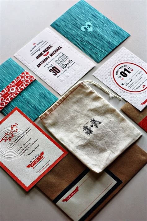 30 Letterpress Wedding Invitations Ideas Wohh Wedding