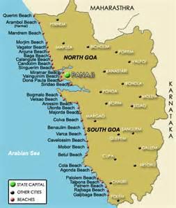 Goa Beaches on India's West Coast