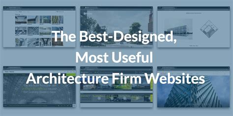 Best Architectural Website by These Are The Best Designed Most Useful Architecture Firm