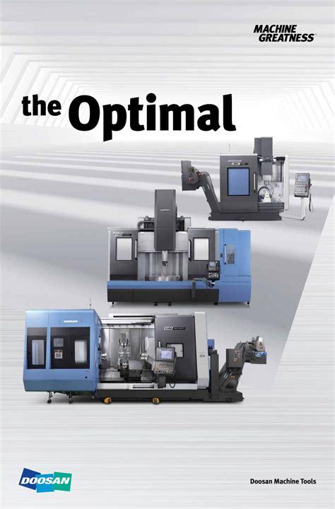 doosan machine tools  optimal  bts company issuu