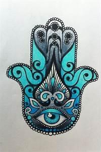 Hamsa Tattoo Design on Pinterest Hamsa Design, Hamsa