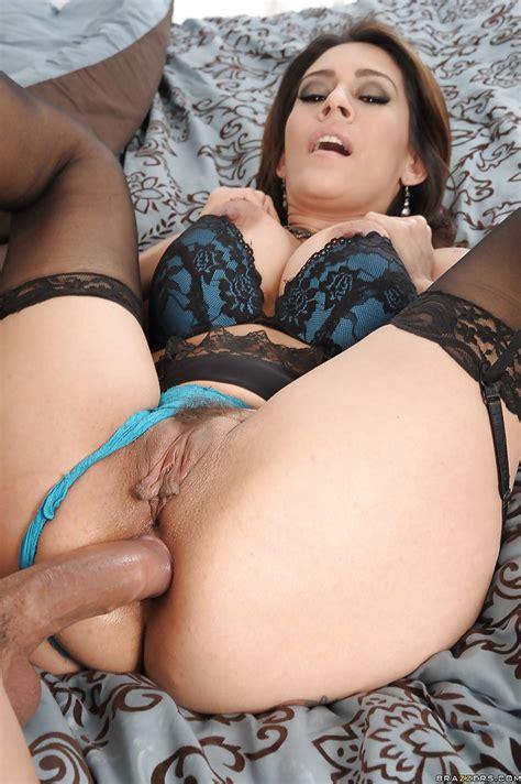 seductive latina milf in nylon stockings gets banged hardcore