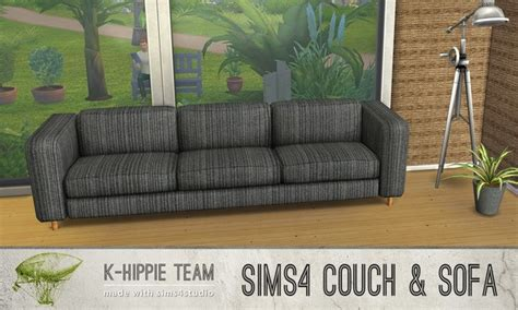 couch potatoes sofa recolors vol    hippie sims