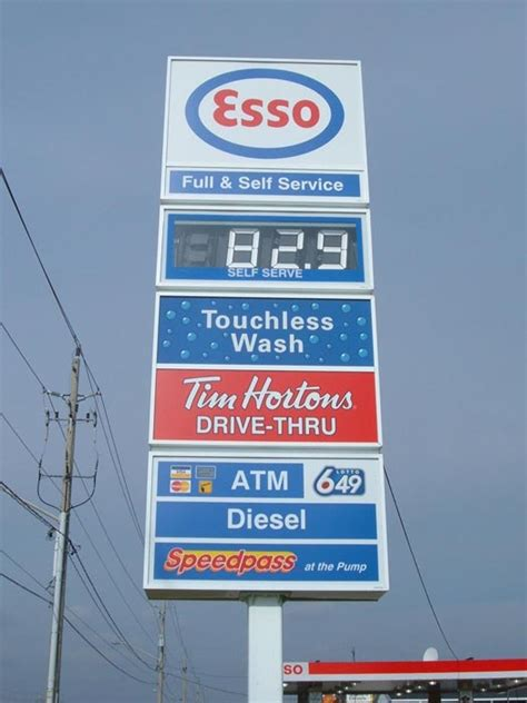 gas station signs gas station sign company service