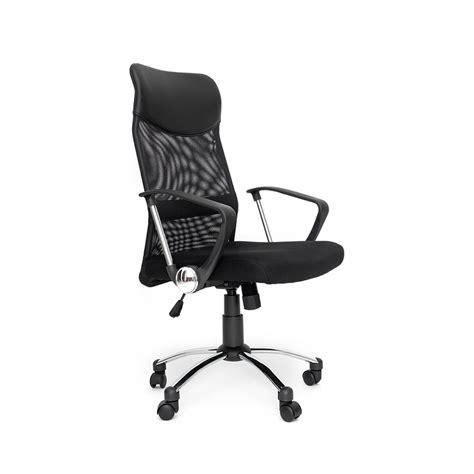 siege plus air air plus fauteuil de bureau siège en tissu inclinable noir