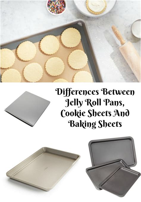 jelly roll cookie baking differences sheets between pans pan sheet difference email