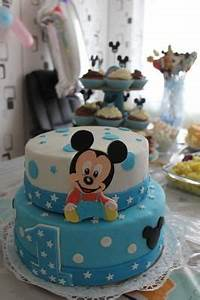 Mickey Mouse Geburtstag : baby mickey mouse torte in 2019 erster geburtstag pinterest kuchen geburtstag torte und ~ Orissabook.com Haus und Dekorationen