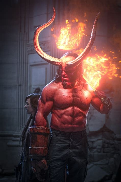 hellboy review  crazy fired  reboot rises