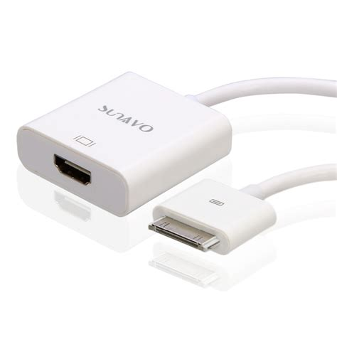 iphone 30 pin adapter 30 pin dock connector to hdmi adapter cable for
