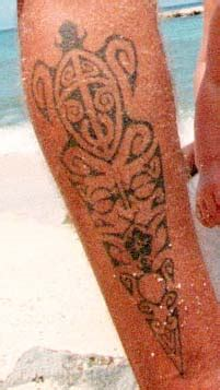 nice ancient hawaiian tattoos