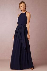 navy blue bridesmaid dress by donna morgan alana dress With midnight blue dress for wedding