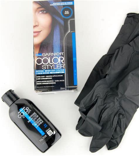 garnier wash out hair color garnier color styler wash out hair color in blue