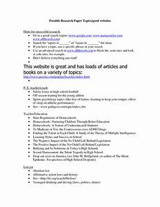 topics for research papers high school students With essay topics for college students