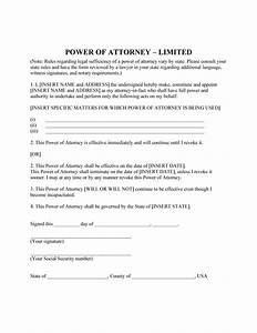 50 Free Power of Attorney Forms & Templates (Durable ...