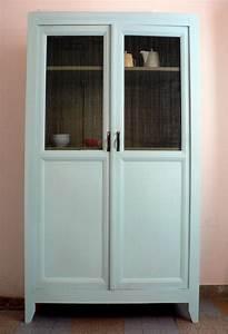 Armoire Parisienne Vintage : armoire parisienne bleu lagon vintage et design mobilier ~ Teatrodelosmanantiales.com Idées de Décoration