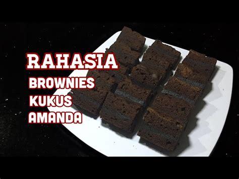 kumpulan video  membuat brownies kukus amanda maxsiid