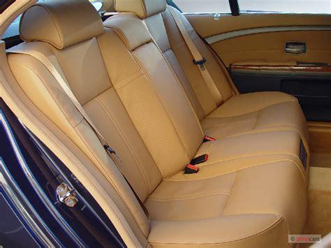 image  bmw  series li  door sedan rear seats
