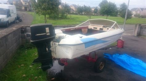 14 Ft Fletcher Speed Boat For Swap In Ennis, Clare From