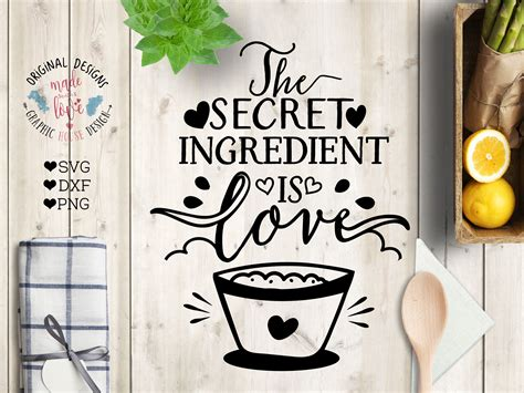secret ingredient  love illustrations creative
