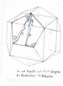 Dach Volumen Berechnen : mp forum volumenformel f r dodekaeder herleiten matroids matheplanet ~ Themetempest.com Abrechnung