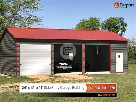 24 X 40 Garage by 24x40 Side Entry Garage Building Metal Building Of The Week