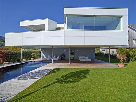 Modernes Haus Weiß by Modernes Einfamilienhaus Fvhf De