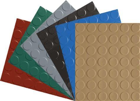 Garage Floor Mat   Rubber Roll Out Coin Pattern Mat