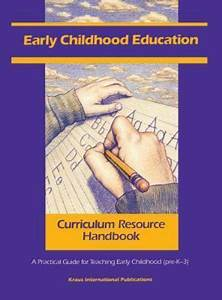 Teacher Resource Handbook Ser   Early Childhood Education
