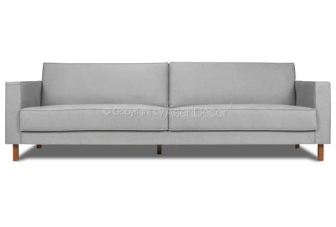 sofa tres lugares cinza sof 225 living nolan 3 lugares fixo linho cinza sala de estar