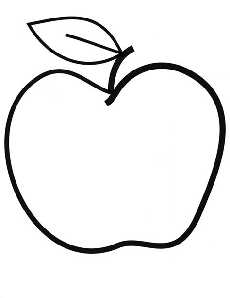 Apple Template 19 Apple Book Template Images Free Printable Shape