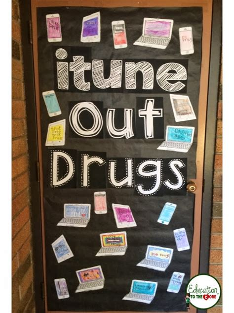 itune  drugs door decoration education   core