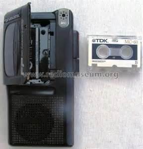 Microcassette Recorder RN-202 R-Player Panasonic, Matsushita
