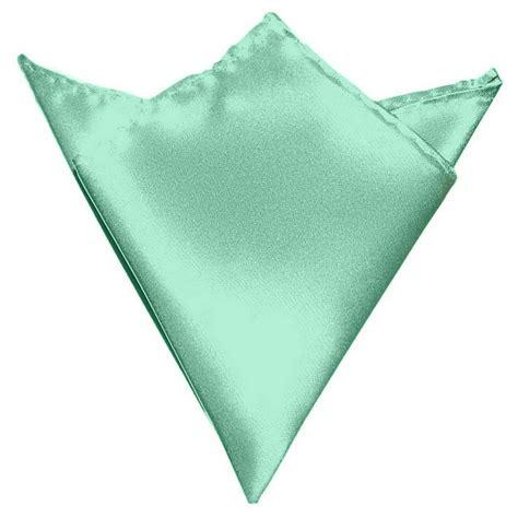 gassani mint green hanky pocket square handkerchief pocket