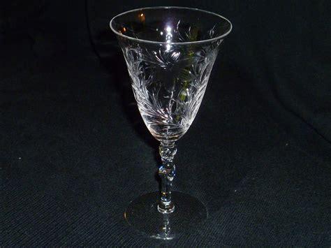 Antique Crystal Stemware