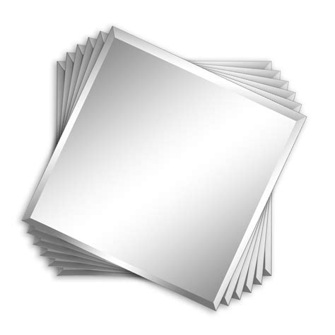 12x12 mirror tiles for walls shop style selections 12 in x 12 in silver beveled square