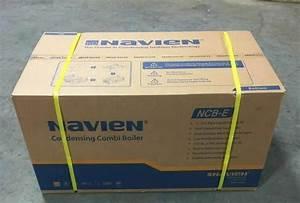 Navien Indoor Condensing Natural Gas Combination Boiler Ncb