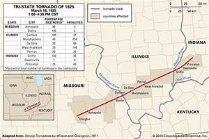 Tri-State Tornado of 1925 -- Kids Encyclopedia | Children ...