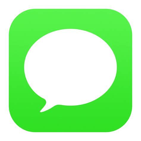 iphone texting app 15 messages ios icon images iphone text message app icon