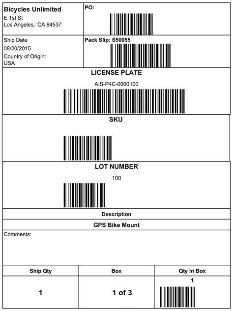 labels  barcodes va partners