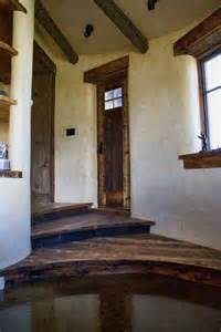 Beautiful Straw Bale House Interior