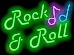 Rock & Roll Neon Sign Amazon
