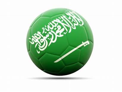 Saudi Arabia Icon Football Flag Betting Illustration