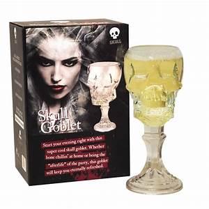 Coffret Verre Tete De Mort : grand verre vin en forme de t te de mort en 3d pour ap ritifs gothiques sur rapid cadeau ~ Teatrodelosmanantiales.com Idées de Décoration