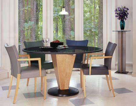 Modern Dining Table  Round Stone Dining Table Granite