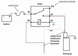 Help On 30a 12v Fuel Pump Relay