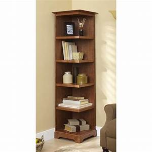 Corner Bookcase Woodworking Plan from WOOD Magazine