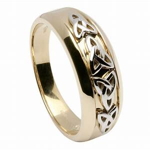 men39s trinity knot wedding ring With trinity wedding ring